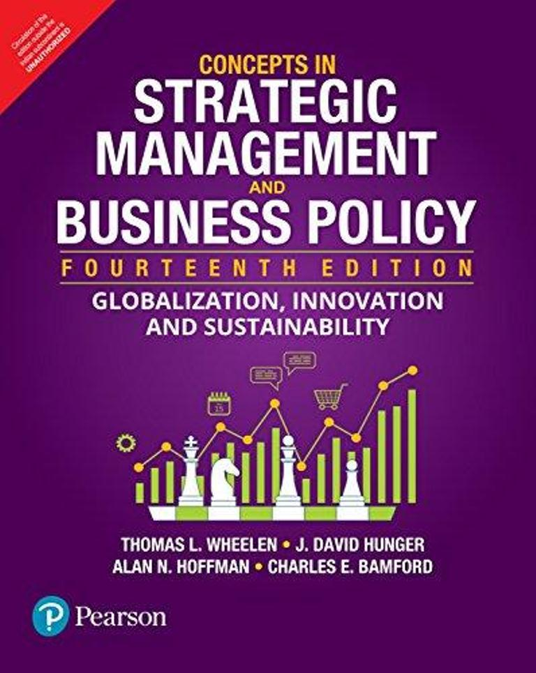Concepts in strategic management and business policy : globalization, innovation, and sustainability