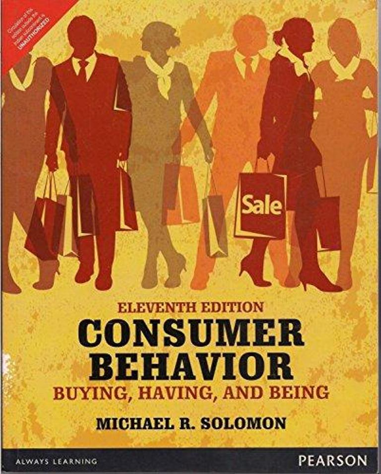 Consumer behaviour : buying, having, and being
